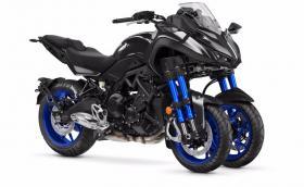 Yamaha Niken е мутиралa MT-09. Изглежда, като от друга планета