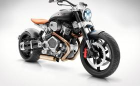 Confederate Motorcycles X132 Hellcat Speedster боботи с по-голям мотор от на Golf GTI. Генерира 120 коня и 190 Нм. Галерия и инфо