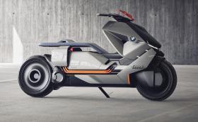 BMW Motorrad Concept Link е футуристичен ел. скутер, който знае къде отивате без да сте му казали