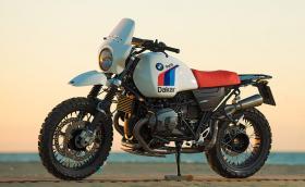 """BMW R nineT в стила на култовото рали """"Париж-Дакар"""""""