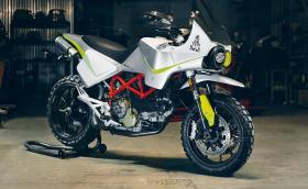 Една от най-странните преработки на Ducati Hypermotard. Галерия