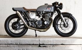 'Dark Passenger' Honda CB750K, проклятието на Federal Moto. Галерия и инфо
