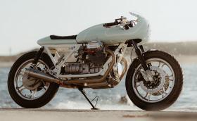Moto Guzzi V1000 G5 с ауспуси от Moto GP и неустоим чар