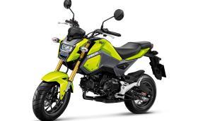 Honda MSX125 носи името Grom и е супер забавен начин за придвижване в града