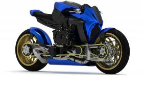 Kickboxer Diesel AWD е нафтов мотоциклет с двойно предаване и дизелов боксер от Subaru