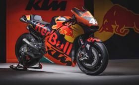 KTM представи първия си мотор за MotoGP: RC16 се задвижва от 1000-кубиков V4 с 270 коня. Галерия и инфо