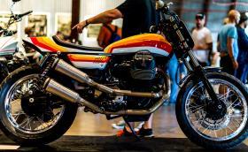 По време на MotoGT: 'The Hand Built Motorcycle Show' в Остин, Тексас. Галерия от изложението