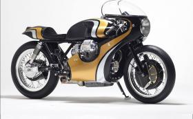 Stile Italiano Moto Guzzi 950. Едно супер стилно Guzzi вдъхновено от... Honda. Галерия и инфо