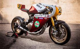 'Rocket': нежен прякор за Triumph Legend TT от XTR Pepo. Ауспухът правен от 'Super Mario'. Галерия и инфо