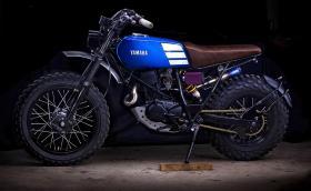 Тази Yamaha TW200 е направена от програмист. Трябвало да бъде Honda CT110