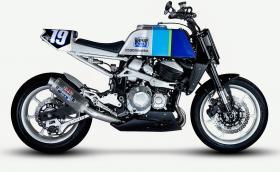 Smoked Garage Kawasaki Z800 е много як мотоциклет! Галерия и видео