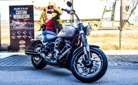 Седнахме на новия Sport Glide. Този Harley-Davidson е тотално ново поколение