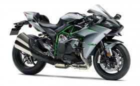 """Новото Kawasaki Ninja H2 генерира 231 к.с., а боята му """"зараства"""" сама"""