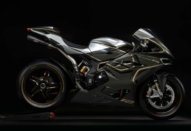 MV Agusta F4 Claudio е мотоциклетно порно с 205 коня. Машината е супер яка!