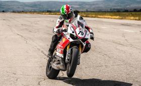 Може да си купите състезателното Ducati Panigale R на Ангел Караньотов. Байкът се продава