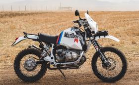 """BMW R 80 G/S в стила на """"Дакар"""". Една легенда от 80-те, преработена 2018-та"""