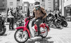 Карахме Honda Super Cub, най-масовото моторно превозно средство… в света