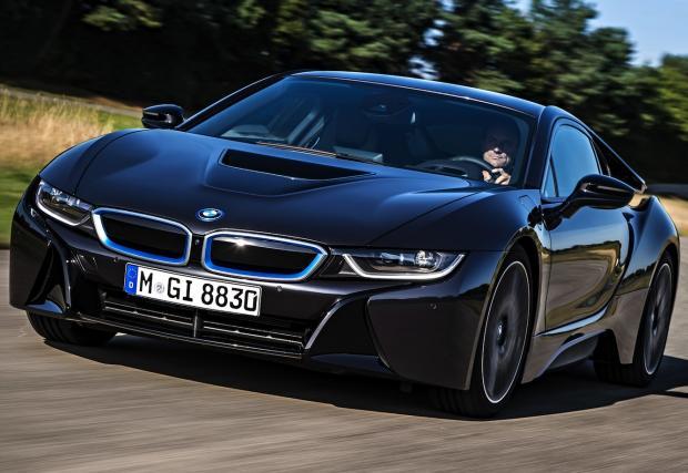 BMW i8 стана автомобил на годината на Top Gear