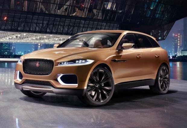 Jaguar F-Pace разкри своя профил