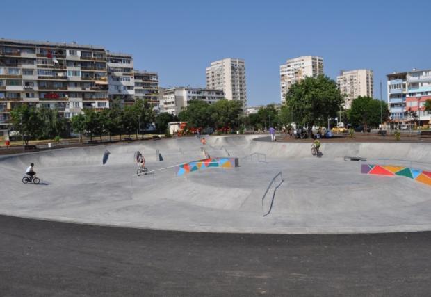 Бургас става национален център на стрийт културата с втори скейт парк