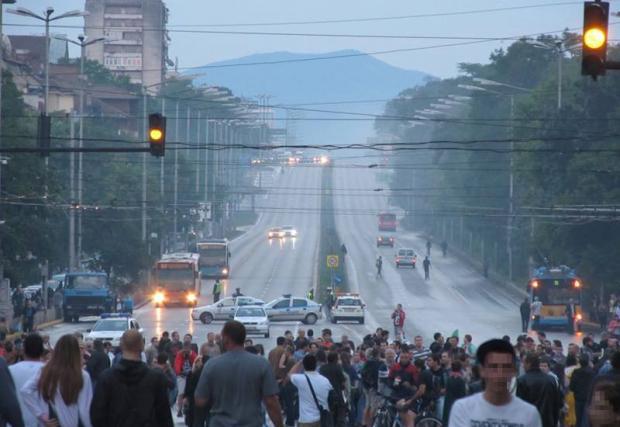 Въвежда се временна организация на движение в София
