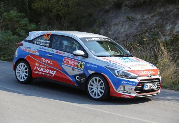 Нов екипаж влиза в битката на Hyundai Racing Trophy във финалния кръг на рали Средна гора
