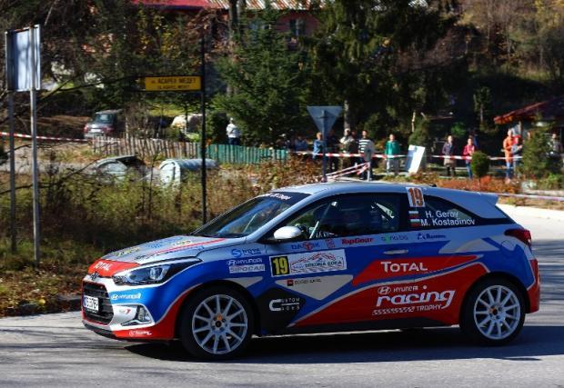 Екипажът Геров/Костадинов - най-бърз в първия ден на рали Средна гора