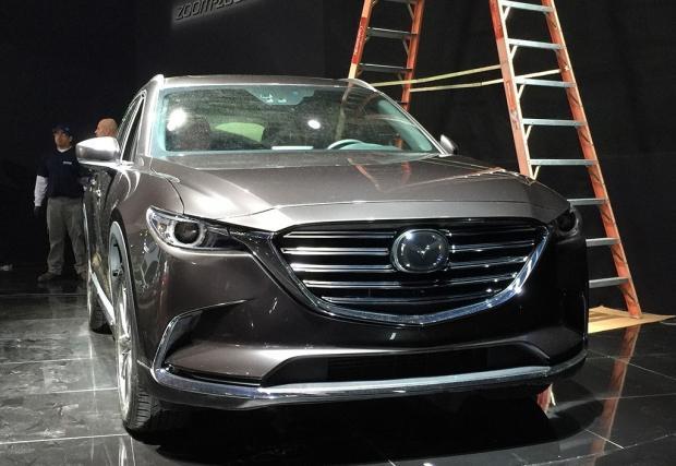 Mazda не успя да скрие новия CX-9