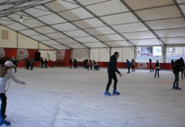 Купонът на ледената пързалка на езерото Ариана започна