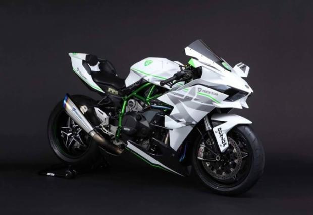 Бялата нинджа Kawasaki H2R