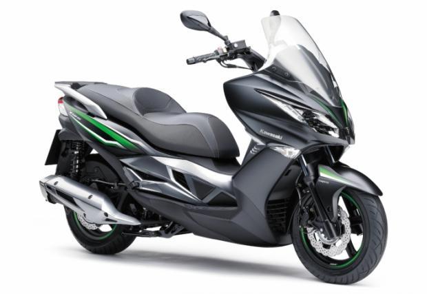Kawasaki пусна 125-кубиков скутер