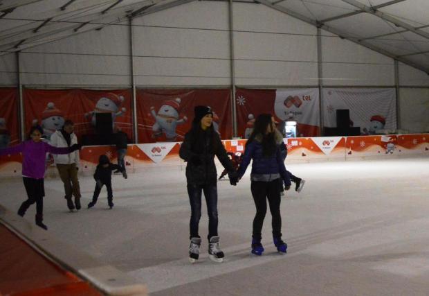 Ледената пързалка Ариана ще работи нонстоп до края на март