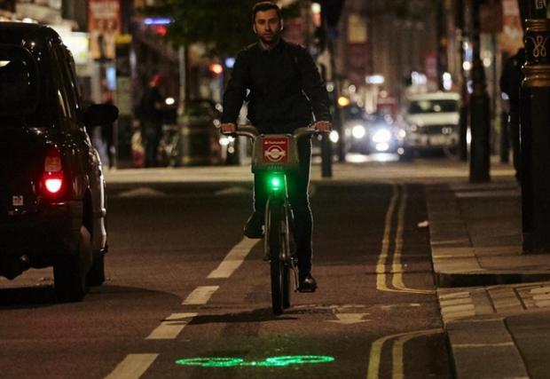 Лондон вече ще има велосипеди с лазерни светлини