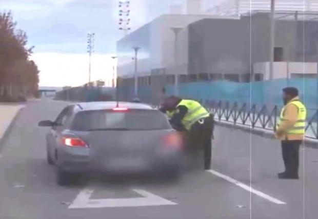 Хамес Родригес бяга от полицията с 200 км/ч