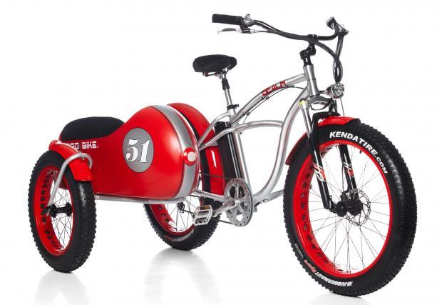 Beach Vintage Fat - уникално колело на ток с кош