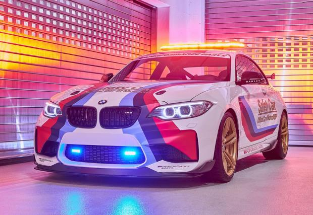 BMW M2 – новият автомобил за сигурност в MotoGP