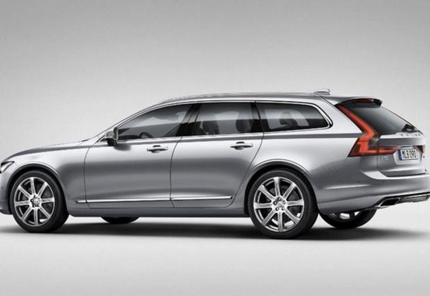 Volvo V90 настъпва с пълна сила!
