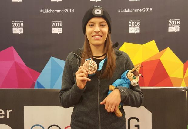 Втори бронз за Катрин Маноилова и трети медал за България на Младежката олимпиада в Лилехамер