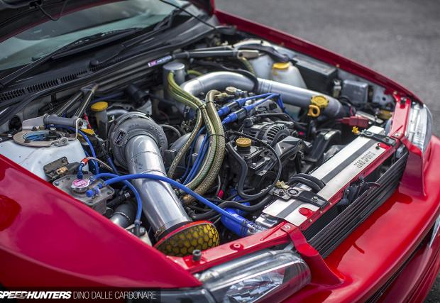 Subaru Impreza CG8 Coupe с 555 коня. Готина кола