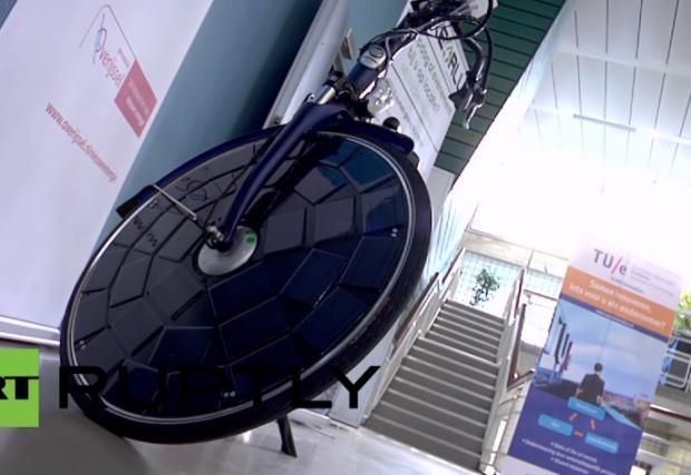 """Соларен """"велосипед за всички"""" (Видео)"""