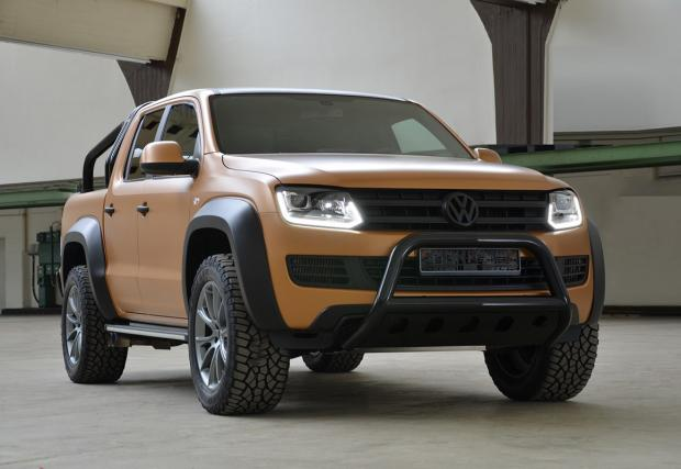 VW Amarok V8 Passion Desert Edition. Подобрен с 4.2 TDI V8