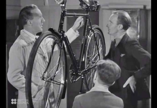 Как са се правели велосипедите през 1945? (Видео)
