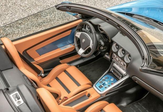Летяща чиния без покрив. Alfa Romeo Disco Volante Spyder