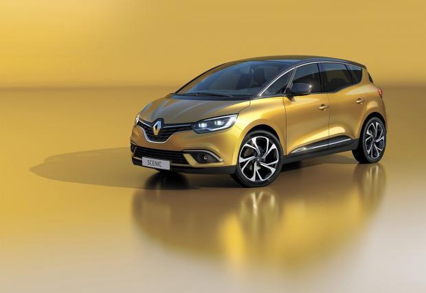 Дами и господа, това е най-новият Scenic на Renault, марката с най-голям опит в този клас