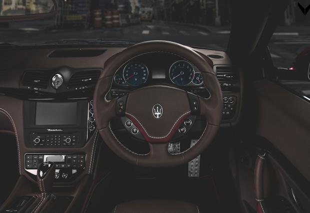 Maserati GranCabrio Sport от Vilner. Един много красив автомобил, вече с още по-красив интериор