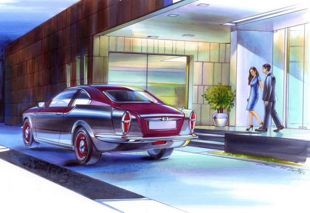 """Едно уникално руско """"Volvo"""". С техника на BMW M3. Bilenkin Vintage"""