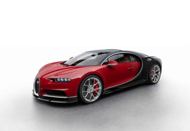 Изберете си Bugatti Chiron. Хиперколата в различни разцветки. Коя ви е любимата?