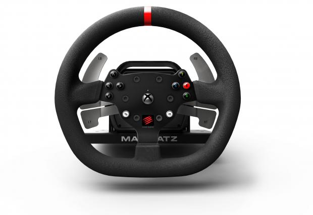 Готин волан: Mad Catz Pro Racing Force Feedback Wheel