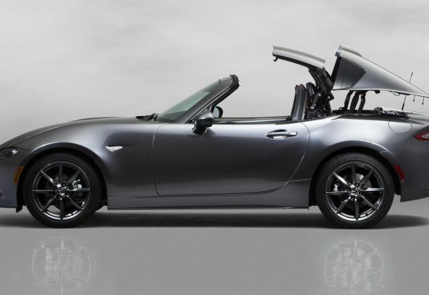 "Готина премиера: Mazda MX-5 RF, с покрив в стил ""Porsche 911 Targa"""