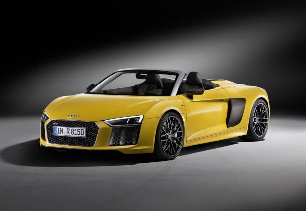 Премиера: Audi R8 V10 Spyder идва с 540 коня и 318 км/ч